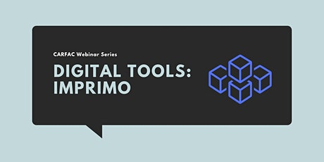 Digital Tools for Artists: Imprimo tickets