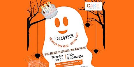 Halloween Party - Volunteer Open House tickets