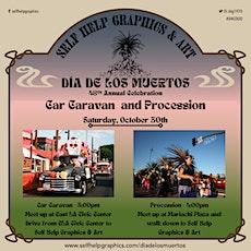 Dia de los Muertos Car Caravan and Walking Procession tickets