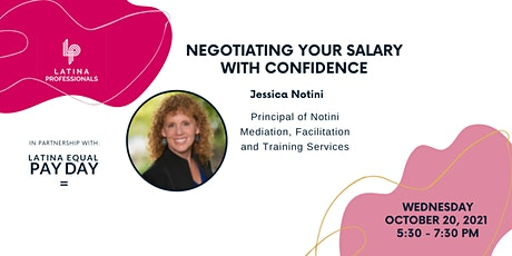 Latina Professionals: Negotiating Your Salary With Confidence tickets