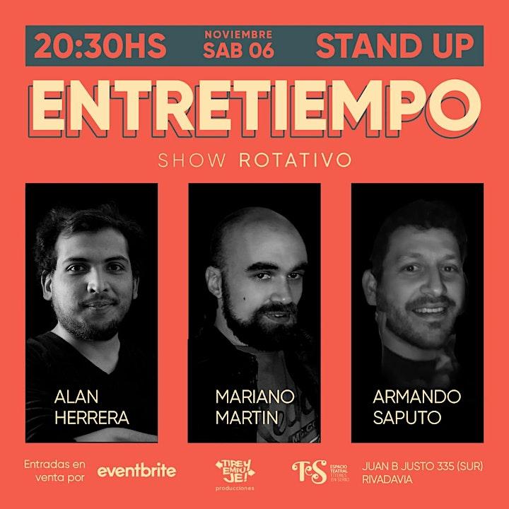 Imagen de ENTRETIEMPO: Show rotativo [[STAND UP]]