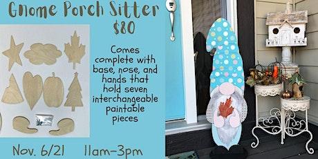 Gnome Porch Sitter Workshop tickets