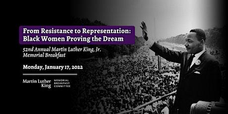 52nd Annual MLK Memorial Breakfast tickets