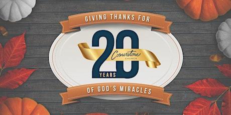 Cornerstone Church 20th Anniversary Park Celebration tickets