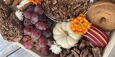 Thanksgiving Dessert Board Workshop tickets