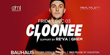 Cloonee @ Bauhaus tickets