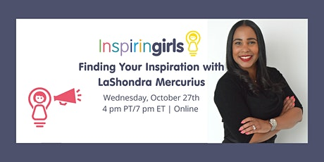 Finding Your Inspiration with LaShondra Mercurius tickets