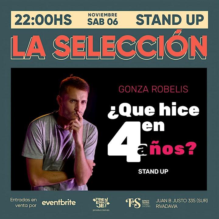 Imagen de LA SELECCIÓN: Show principal [[STAND UP]]