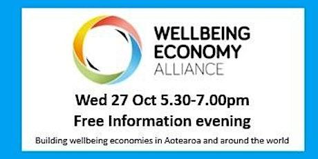 Wellbeing Economy Alliance Information Evening tickets