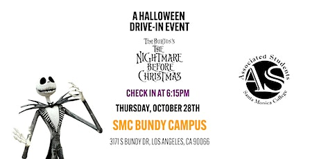 Halloween Drive-In Event: The Nightmare Before Christmas tickets