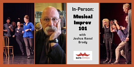 In-Person: Musical Improv 101 with Joshua Raoul Brody tickets