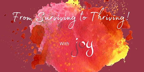 Navigate Your Own Malicious Messaging So You Can Feel Deep JOY! tickets