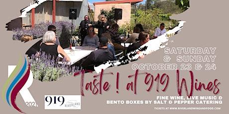 919 Wines - TASTE! tickets