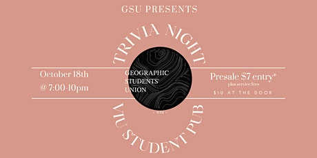 GSU Presents: Trivia Night tickets