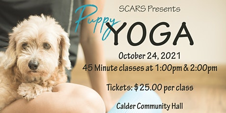 SCARS YOGA with adorable  adoptables! tickets