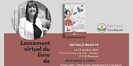 Parution et lancement du nouveau titre de Nathalie Maggyd au Canada billets