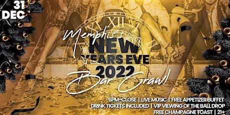 Memphis NYE Bar Crawl tickets