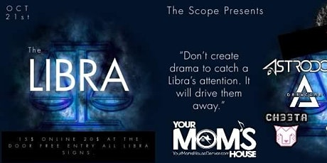 The Libra Music and Art Festival tickets