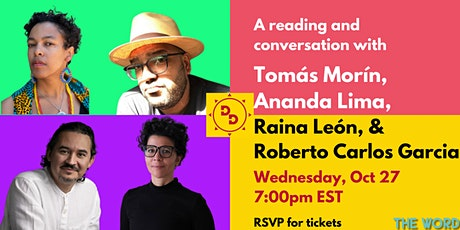 Tomás Morín, Ananda Lima, Raina León, Roberto Carlos Garcia: Reading/Convo tickets
