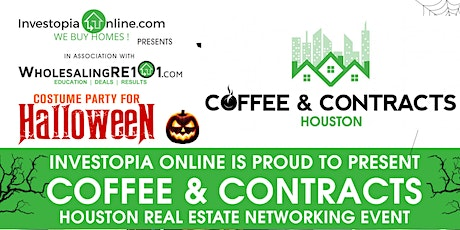 Coffee & Contracts Houston 2nd Annual Halloween Costume Party! tickets