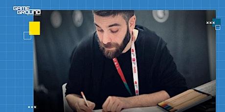 Videogioco e produzione grafica: art direction, concept art, graphic design biglietti