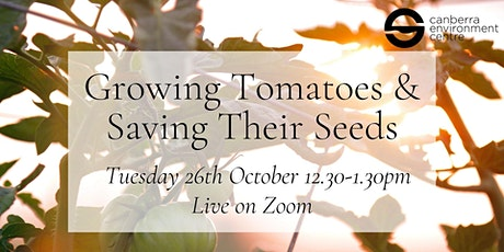 Growing Tomatoes and Saving their Seeds tickets
