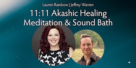 11:11 Akashic Healing Meditation tickets