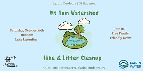 LO SF Bay Area | Mt Tam Watershed Hike and Litter Cleanup tickets