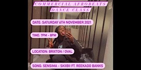 Commercial Afrobeats Dance Class tickets