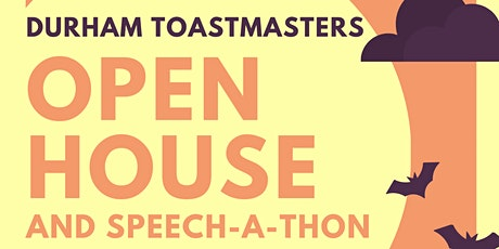 Durham Toastmasters Open House tickets