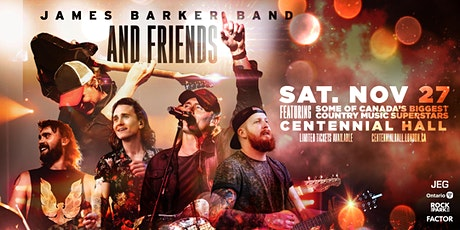 James Barker Band And Friends tickets