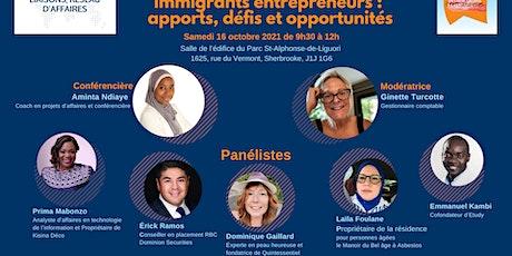 Immigrants entrepreneurs :  apports, défis et opportunités billets