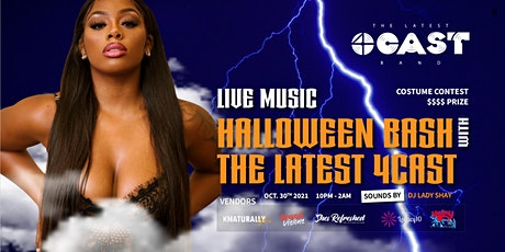[LIVE] Halloween Bash With The Latest 4Cast tickets