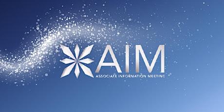 Associate Information Meeting (A.I.M) tickets