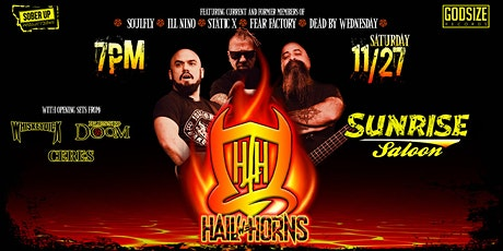 Hail The Horns at The Sunrise Saloon tickets