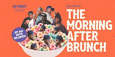 The Morning After Hip Hop Halloween Brunch tickets