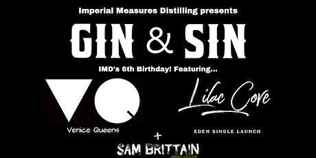 GIN & SIN! tickets