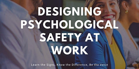 Designing Psychological Safety At Work for Leaders tickets