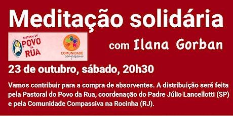 Meditação Solidária com Ilana Gorban tickets