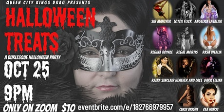 Queen City Kings Drag presents HALLOWEEN TREATS: A Burlesque Extravaganza tickets
