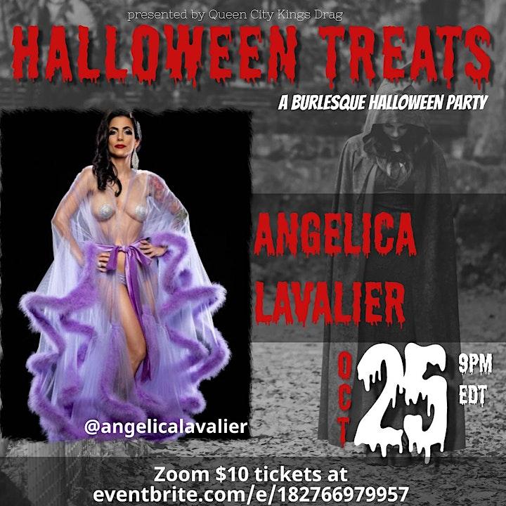 Queen City Kings Drag presents HALLOWEEN TREATS: A Burlesque Extravaganza image