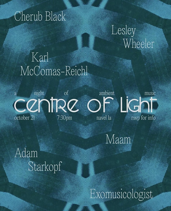 Centre of Light: A Night of Live Ambient Music image
