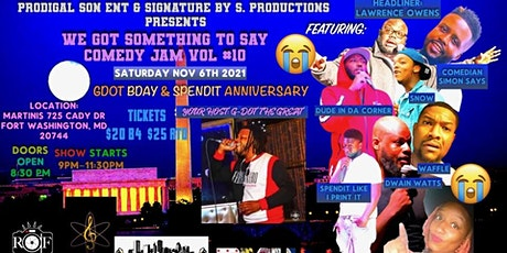 WE GOT SOMETHING TO SAY VOL.10 tickets