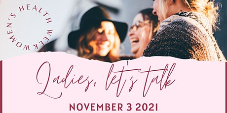 NEW SOUTH WALES - LADIES LET'S TALK tickets