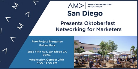 SDAMA's Oktoberfest Networking Event for Marketers tickets