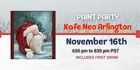 Gnome St. Nick Paint Night @ Kafe Neo tickets