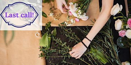 Flower Design  & Victorian Floriography (Rengstorff House Garden) tickets