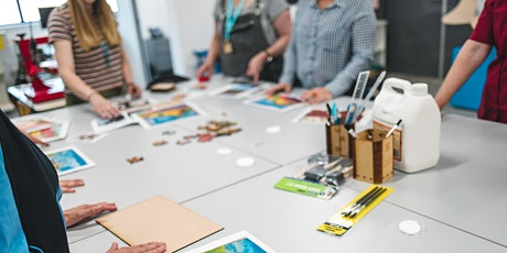 Creative Collab: Laser Cutter tickets