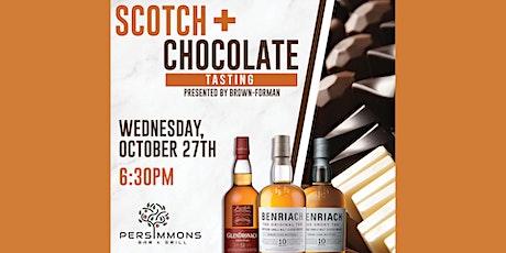 Scotchtober - Chocolate & Scotch pairing tasting tickets