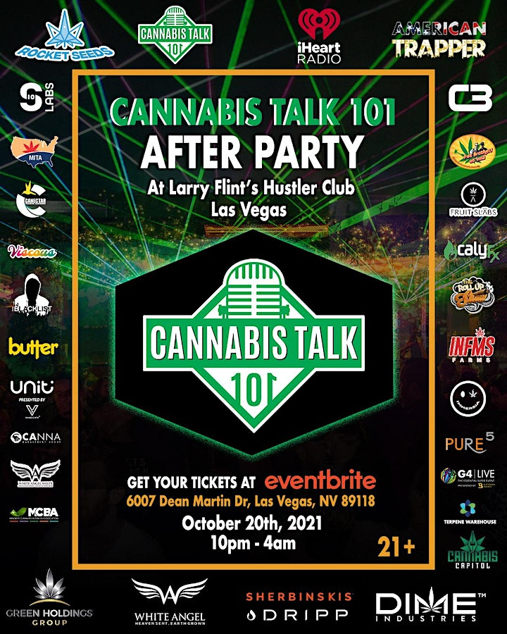 MJ BIZCON Afterparty presented by Cannabis Talk 101 and iHeartRadio image